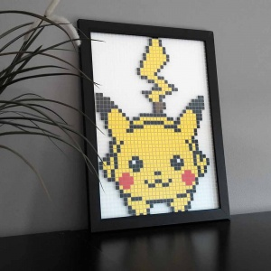 Pikachu pixel art photo