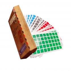 boite gommettes stickers carré