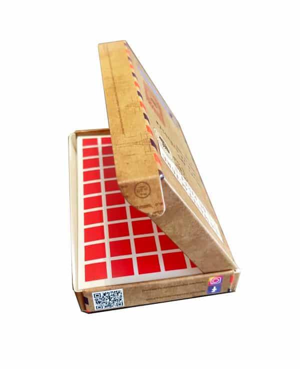 boite stickers carré