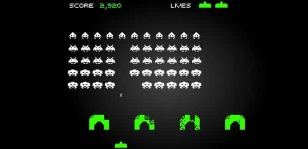 capture d'écran du jeu space invaders
