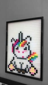 licorne pixel art photo
