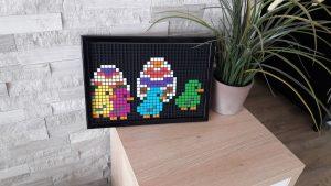 Poussin Pâques pixel art photo 1