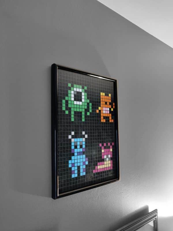 Montres et compagnie pixel art photo