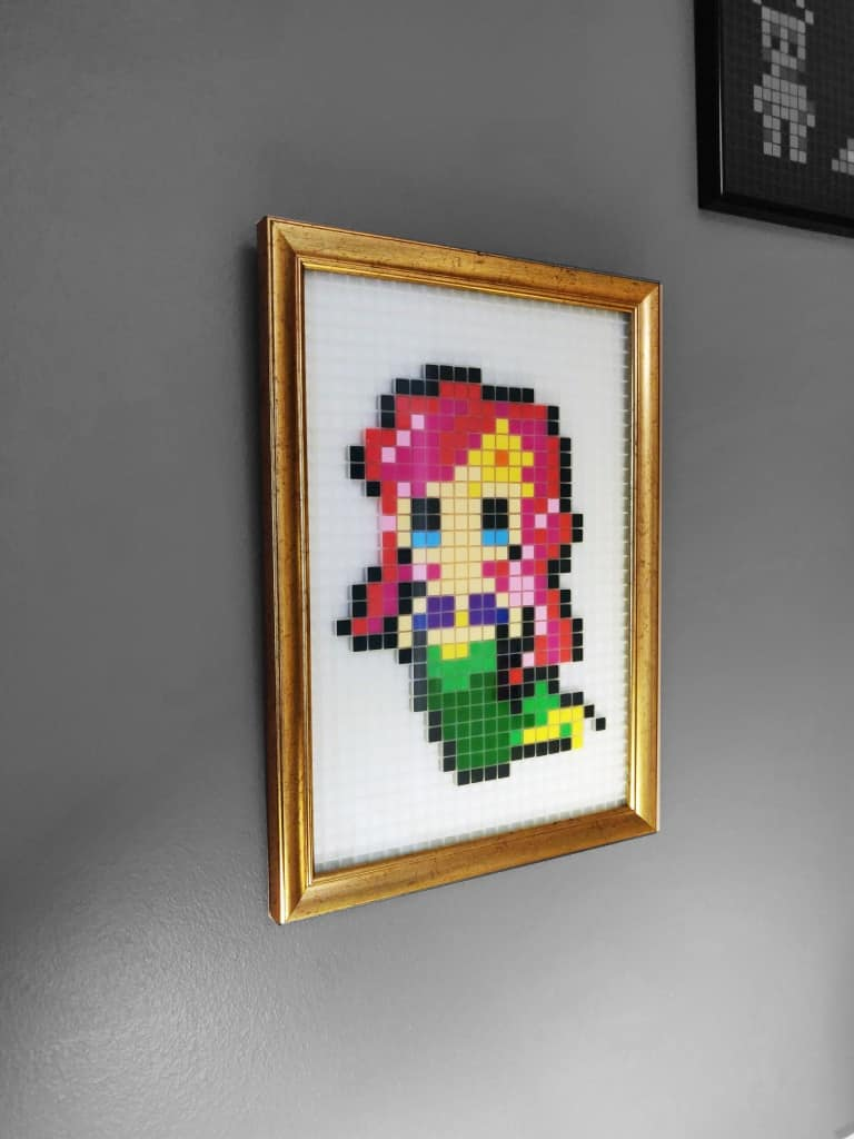 Petite sirène Pixel Art photo