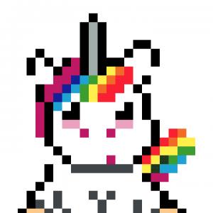 Arc En Ciel Pixel Art La Manufacture Du Pixel