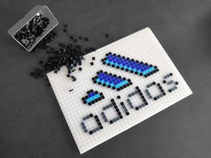 adidas pixel art photo 1