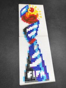 Coupe du monde feminine pixel art