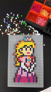 Princesse Peach Mario Pixel Art photo 1