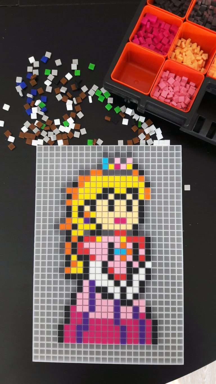 Princesse Peach Mario Pixel Art photo 1