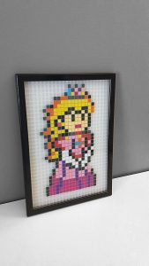 Princesse Peach Mario Pixel Art photo 2