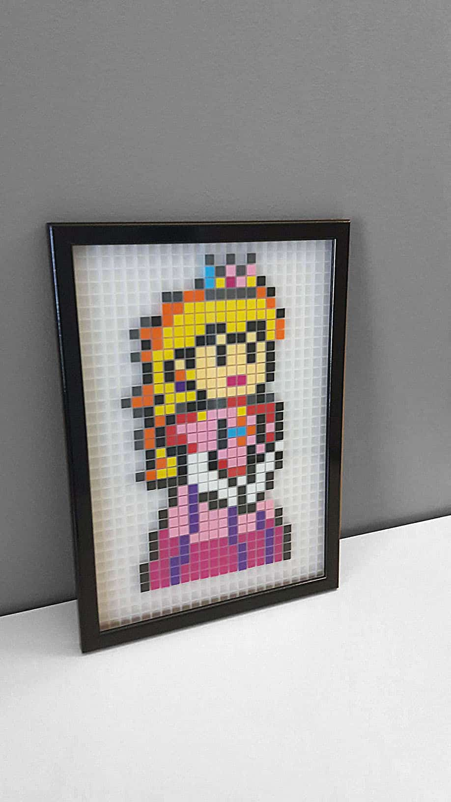 Princesse Peach Mario Pixel Art La Manufacture Du Pixel