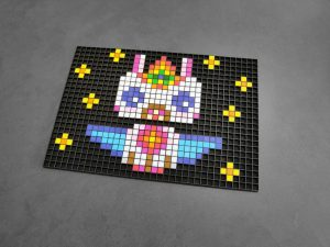 licorne kawaii pixel art photo 1