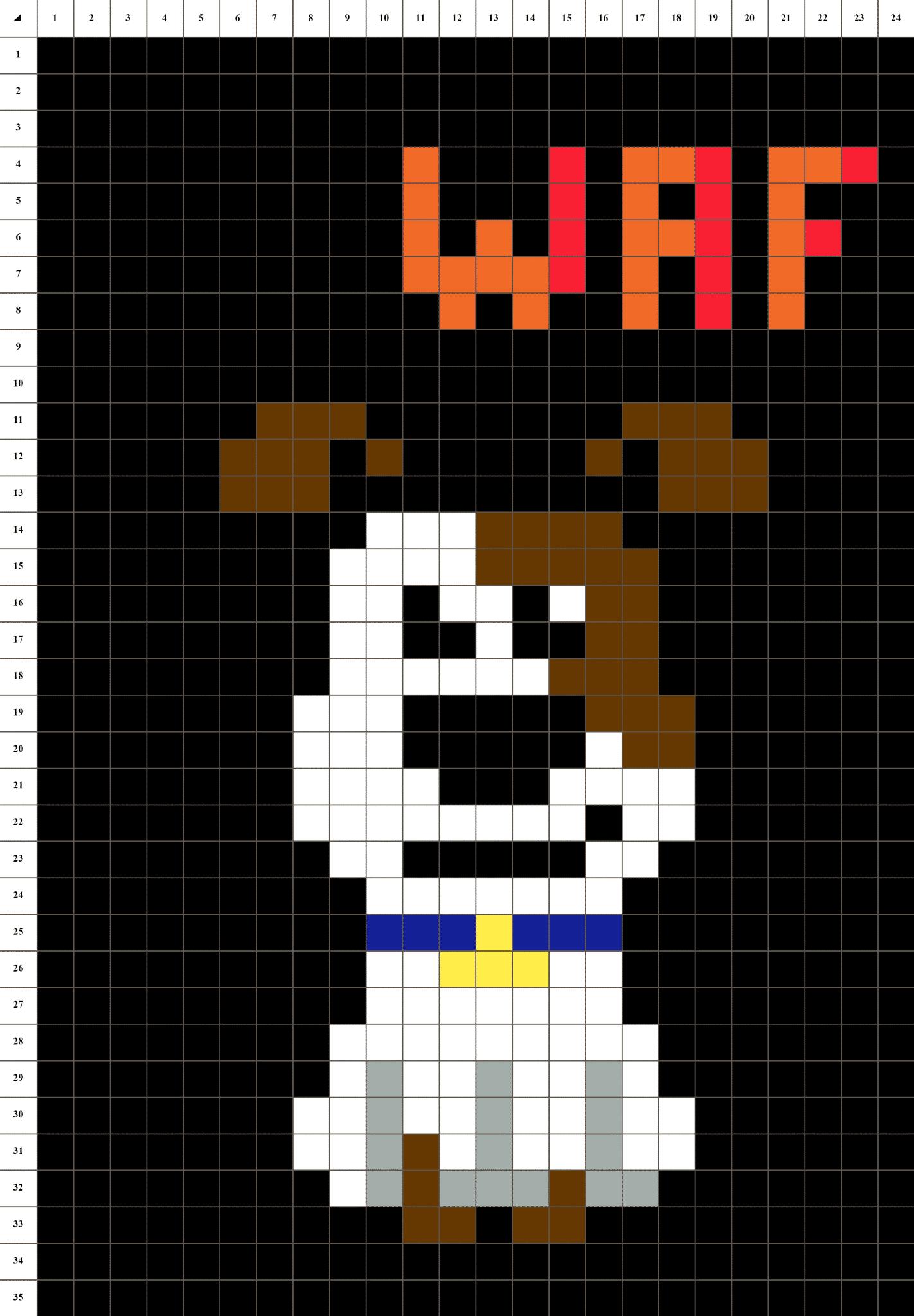 Chien Pixel Art La Manufacture Du Pixel