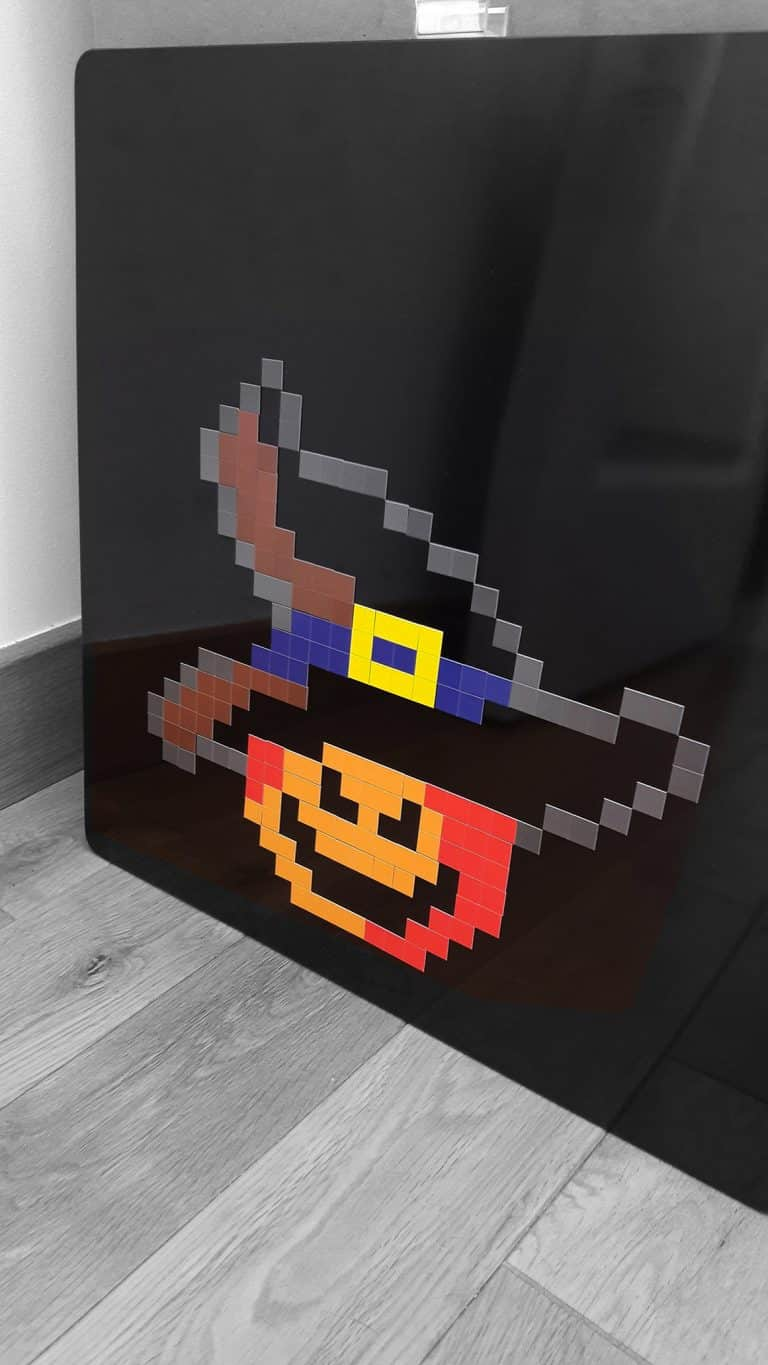 Citrouille Halloween Pixel Art photo 2