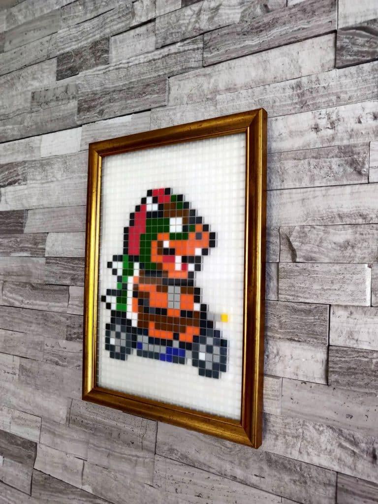 Bowser Mario Kart pixel art _ photo 1