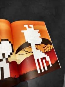 couverture pixel art à compléter photo 1