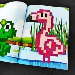 couverture pixel art à compléter photo 4