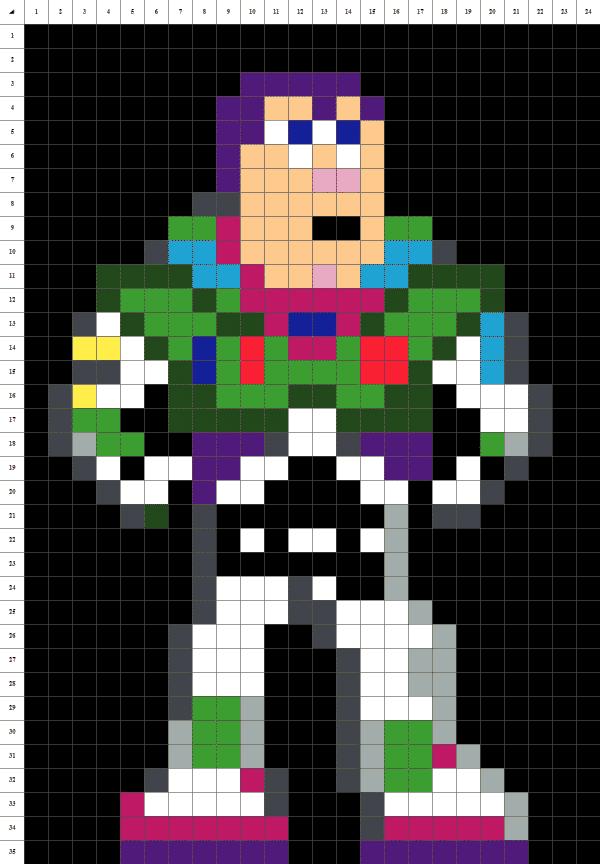 pixel art de buzz l'éclair de toy story sur fond noir