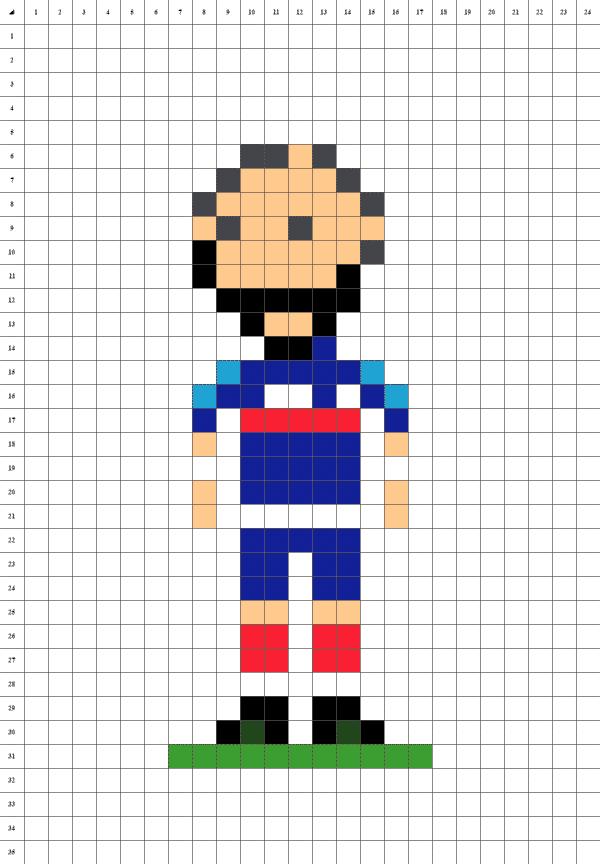 pixel art de karim benzema le footballeur de l'équipe de France sur fond blanc