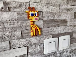 Image de girafe produit pixels à insérer