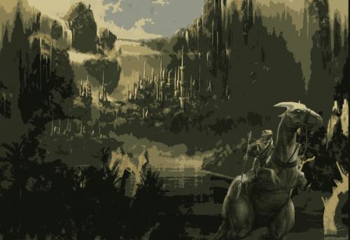 dinosaure histoire de la Manufacture du Pixel